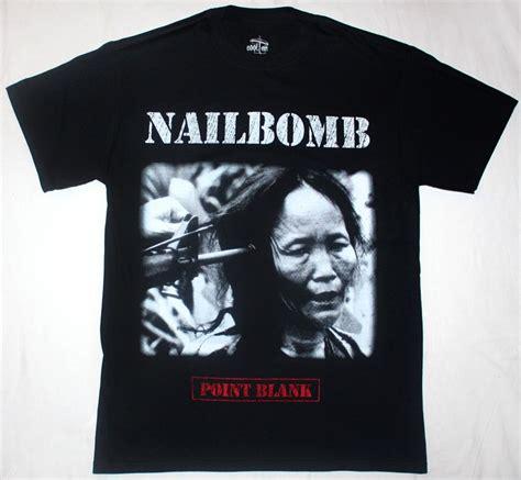 T Shirt Ponit Balnk nailbomb point blank 94 sepultura cavalera soulfly thrash