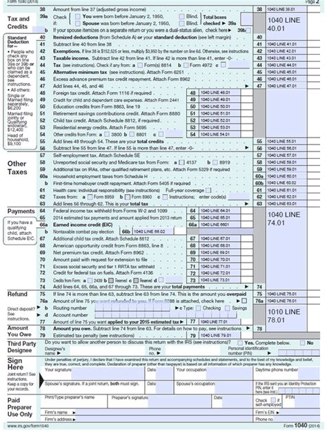 Printable 2015 Nj Tax Forms