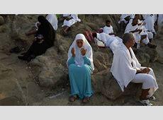 Hajj 2016: Pilgrims gather at Mount Arafat for key rite ... Five Pillars Of Islam Hajj