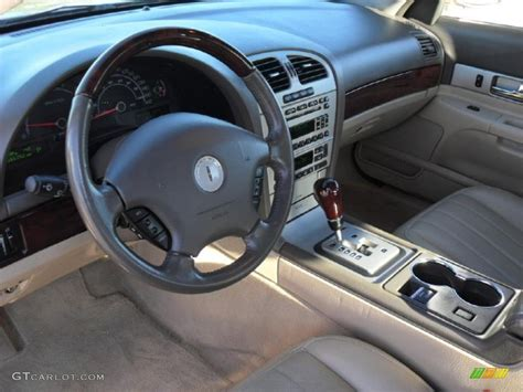 beige interior 2006 lincoln ls v8 photo 41276037