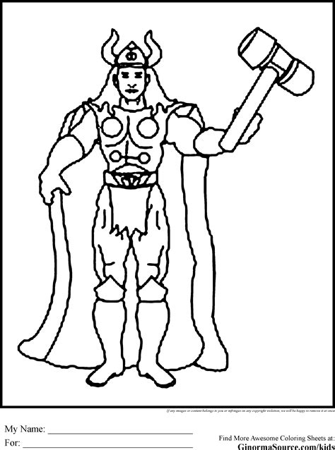 avengers coloring pages thor the avengers colorng pages thor coloring pages