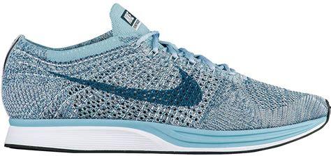 Sepatu Nike Flyknit Racer Macaroon Pack Blueberry Legion Blue nike flyknit racer legion blue