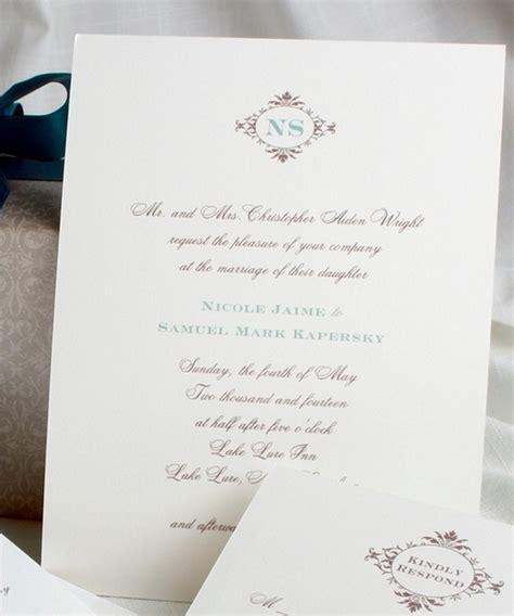 Wedding Invitation Letterhead wedding invites wa wedding invitation ideas