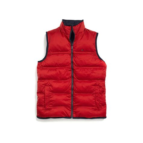 Chili Vest hilfiger reversible vest in for chili