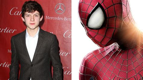 actor in captain america civil war british actor tom holland to play spider man
