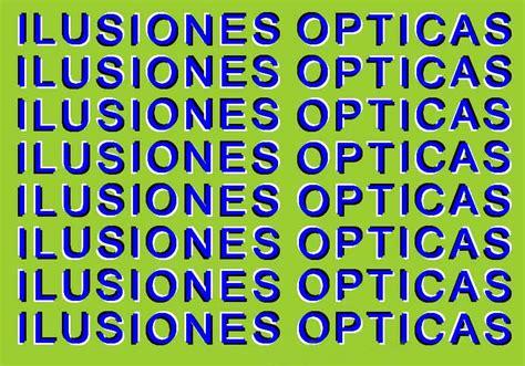 imagenes opticas de terror ilusiones opticas taringa