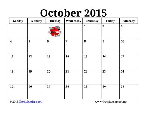 printable monthly planner october 2015 image gallery october 2015 calendar printable pdf