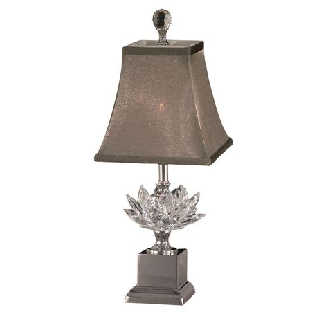 dale l shade dale in lucinda polished nickel accent l with