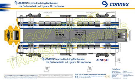 Home Layout Design connex alstom train transit graphics
