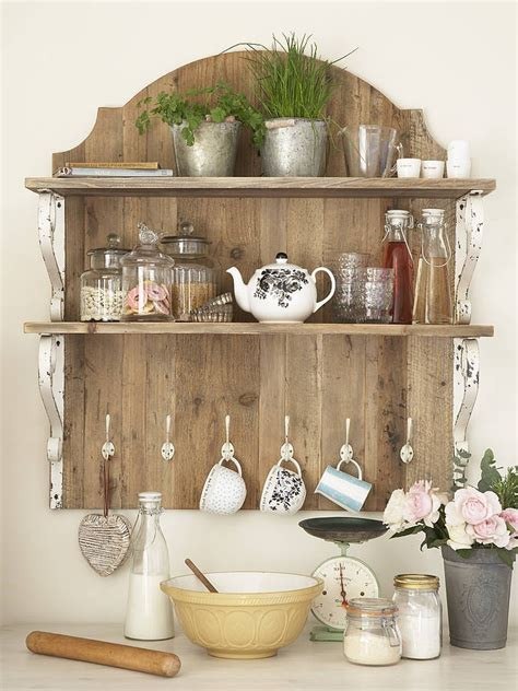country style shelves country style wooden shelf unit for the kitchen
