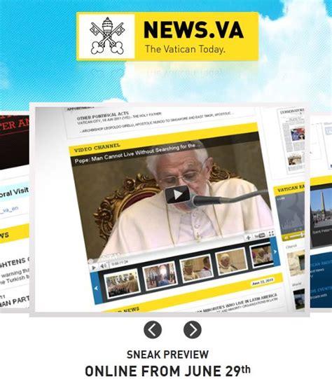 santa sede news nasce news va il portale informativo della santa sede