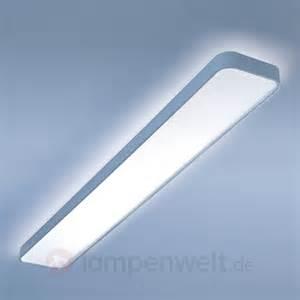 led decken leuchte lange led deckenleuchte caleo x1 ww 6033485x