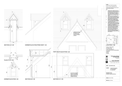 Dormer Details Various Drawings Robert Bruce Archinect