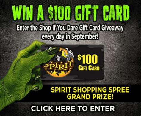 gift cards halloween and cards on pinterest - Spirit Gift Card