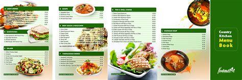 design menu book menu book