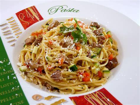 Leckere Rezepte Mit Gem Se 3311 by Spaghetti Mit Gem 252 Se Mediterranes Nudelgericht Mit Lamm