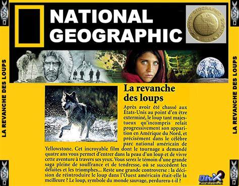 film dokumenter national geographic la revanche des loups