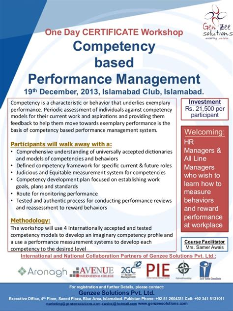 Competency Based Mba by Competency Based Performance Management