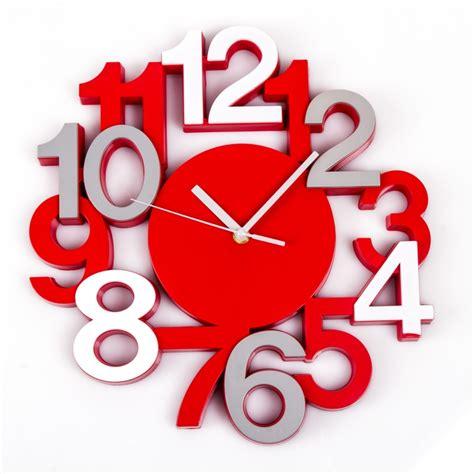 pendule pour cuisine horloge murale silencieuse chiffres 3d turquoise maison fut 233 e