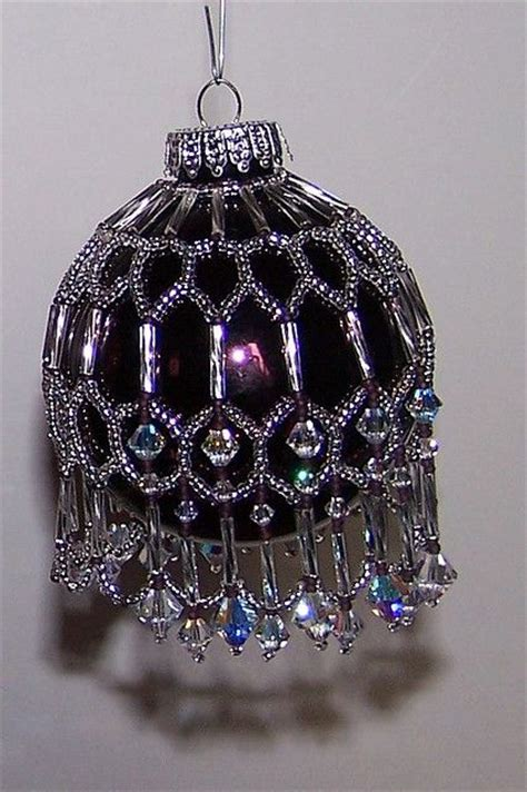 bead ornament patterns best 20 beaded ornament covers ideas on