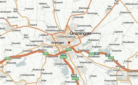 netherlands map groningen groningen location guide