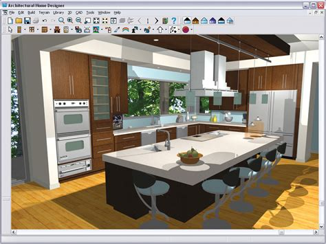 kitchen design application chief architect architectural home designer 9 0 pc dvd