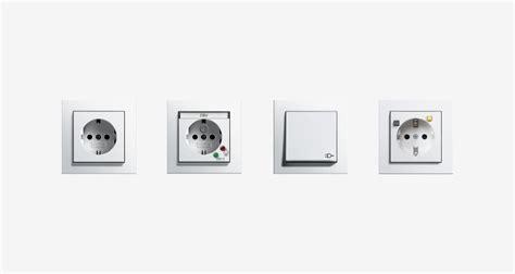 Beschriftung Jung Tastsensoren by Gira Socket Outlets