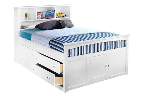 Bed With Drawer by Bayfront Captains Bed W Single 4 Drawer Unit Living