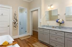 Grey Beige Bathroom Transitional Bathroom Photos Hgtv