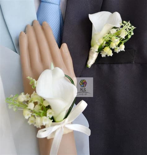 are corsages in style european style wedding corsages groom boutonniere bride