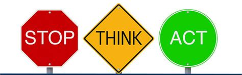 security lyrics stop light observations stop think act safe logo pictures to pin on pinterest