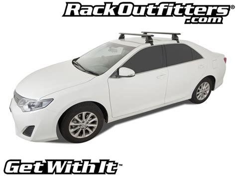 2013 Camry Roof Rack by New Toyota Camry Rhino Rack 2500 Aero Black Base Roof Rack