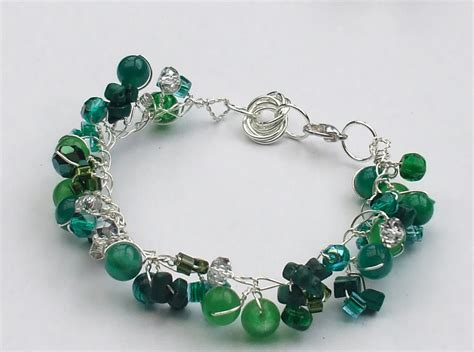 And Bracelet twisted wire and bead bracelet allfreejewelrymaking