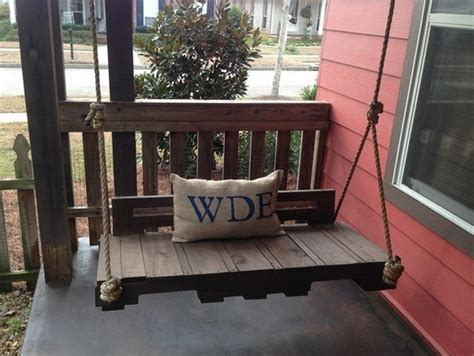 pallet swing bench pallet wood swing projects pallet wood projects