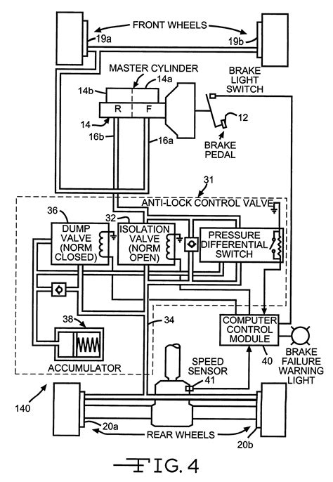 Patent Us6241326 Electronic Brake Proportioning For A