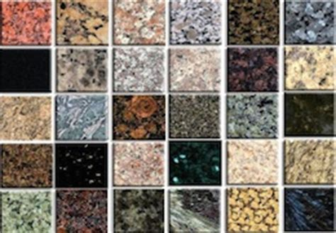 Types Of Granite Countertops Granite Countertops Tx Granite