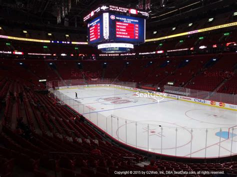 section rouge centre bell bell centre section 114 seat views seatgeek