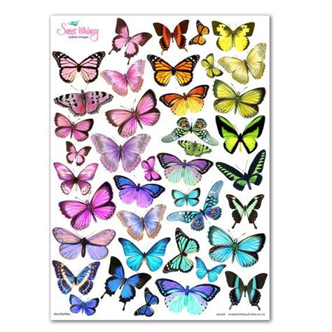 edible tattoo paper edible wafer paper butterflies cake toppers cupcake and