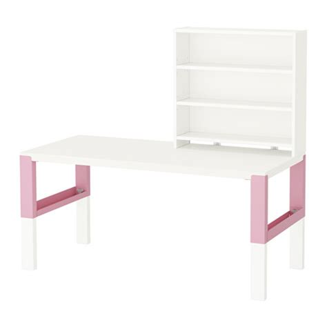 Desk Shelf Unit by P 197 Hl Desk With Shelf Unit White Pink
