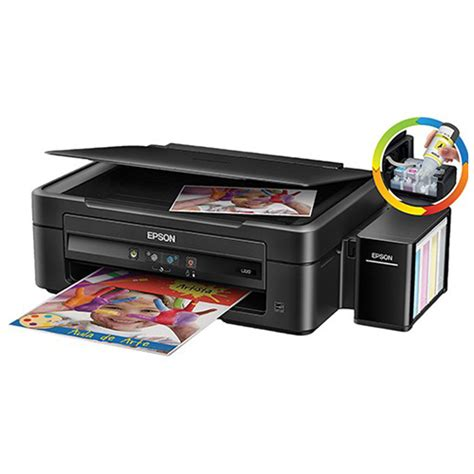 Pnter Epson L360 Print Scan Copy Infus Pabrikan 1 epson l360 ink tank system color 3 in 1 printer print scan copy manual duplex one touch