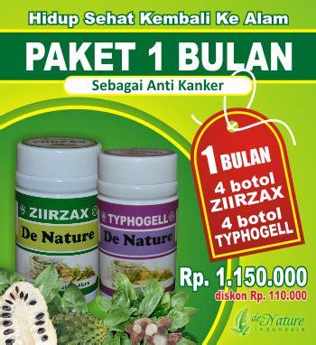 Kapsul Typhogell Herbal De Nature by Obat Kanker De Nature Kapsul Ziirzax Dan Typhogell