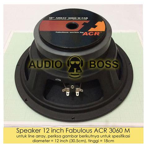 jual speaker acr   fabulous  acr