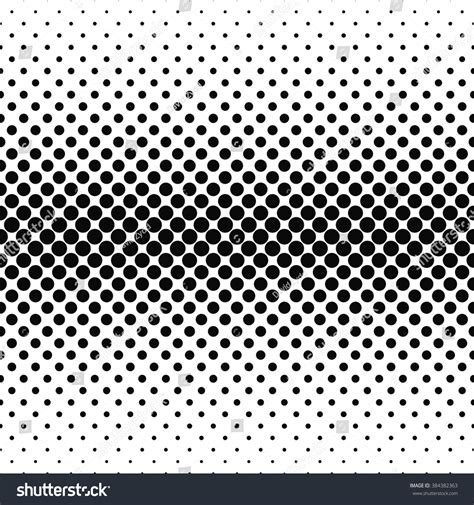 circle pattern vector background repeating monochrome vector circle pattern background