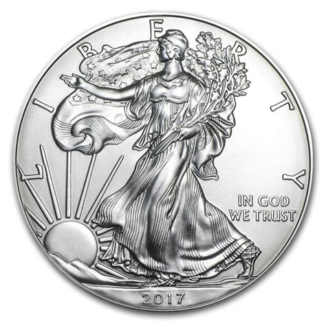 1 Oz Silver Eagle - buy 2017 1 oz silver american eagle bu 2017