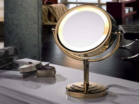 professional portable lighted makeup mirror professional lighted makeup mirrors style guru fashion