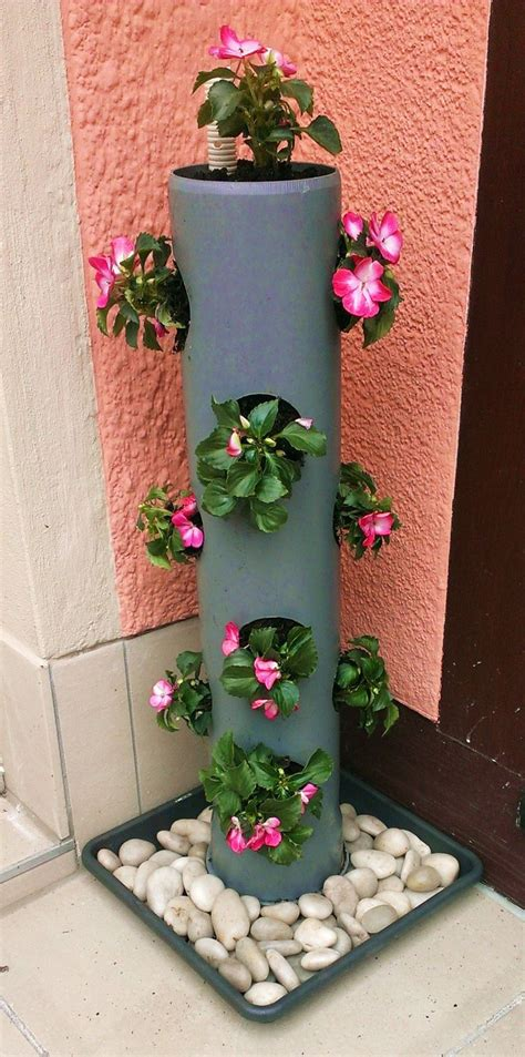 17 Best Ideas About Pvc Pipes On Pinterest Colored Pvc Pvc Pipe Planter