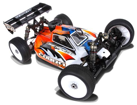 Cobra srx8 buggy 1 8 4wd model news msuk rc forum