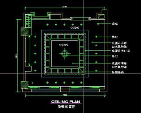 Ceiling Plan Dwg restaurant bar ceiling plan autocad drawings