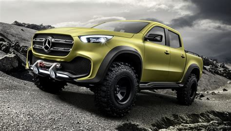 Mercedes 4x4 by Mercedes X Class Ute Previewed In New