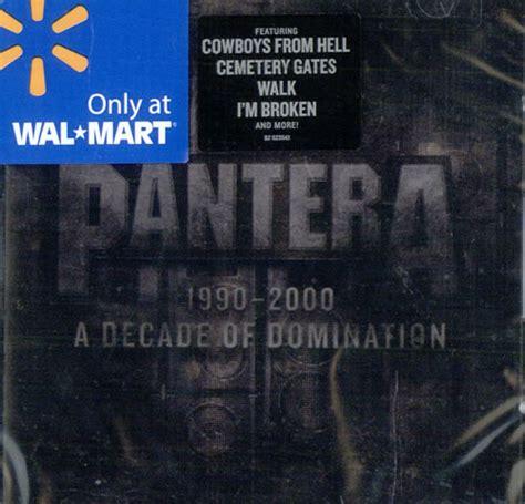 Cd The Panturas pantera 1990 2000 a decade of us cd album cdlp 510041
